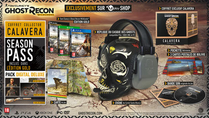 Tom Clancy's Ghost Recon Wildlands - Edition Collector Calavera
