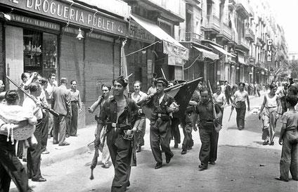 Barcelona, Juli 1936