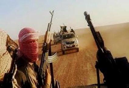IS-enheder i Syrien