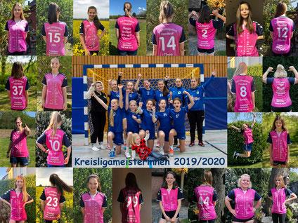 Kreismeister 2019-2020 TuS D-Mädchen