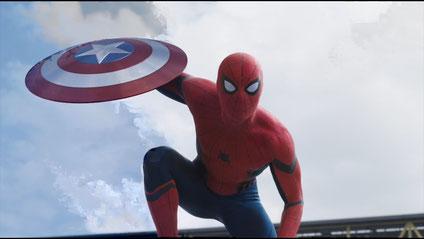 Gibt sein (gelungenes) Debüt - Spider Man in der dritten Filminkarnation [Quelle: Disney/Marvel]