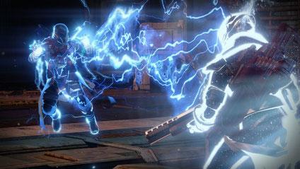 Der Warlock macht einen auf Imperator Palpatine  [Quelle: Bungie]