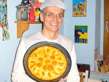 Bild: Capelle's Backform mit Obstkuchen a la Francaise