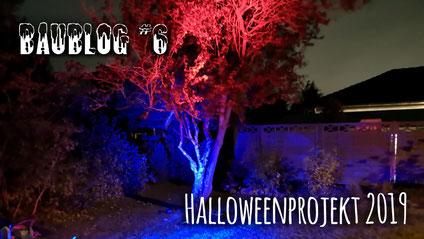 Baublog 6 - Es werde Licht, Halloweenhaus Lüneburg , Deutsch Evern