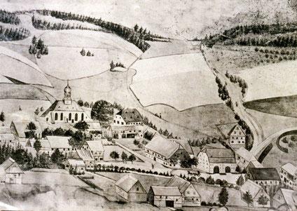 Burkhardtsdorf im Jahre 1793