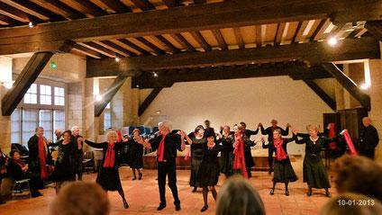 Atelier danses Club MGEN 10-01-2013
