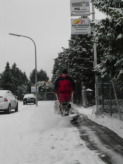 Winterdienst Außenbereich