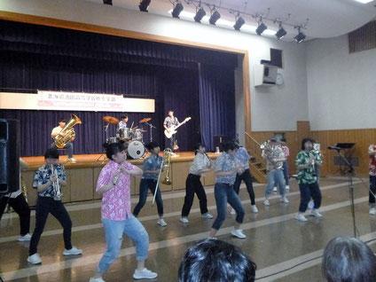 北海道池田高等学校吹奏楽部 厚真町訪問公演