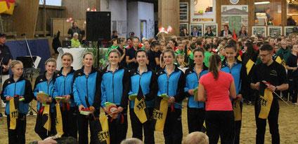 Team 2 auf dem C-Team-Cup in Dorum 2016