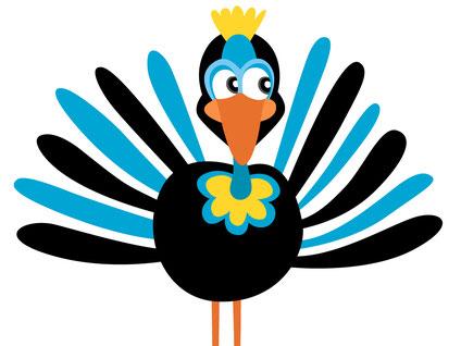 strauss illustration martina lengers vogelillustration
