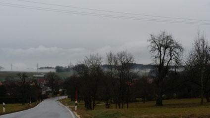 Einfahrt in Türkheim an Silvester 2015