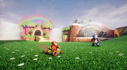 CryZENx lässt den Rennspiel-Klassiker Diddy Kong Racing von Nintendo in der Unreal Engine 4 wieder auferstehen.