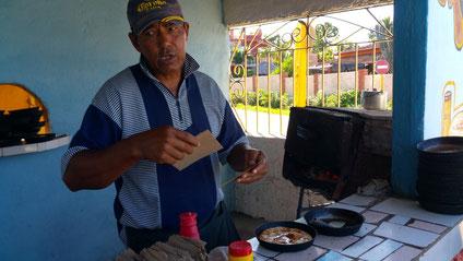 Trinidad à Cuba : les Pizzas de Patricio !! excellentes et seulement 50 centimes pièce