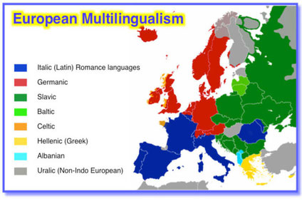 Map of Languages