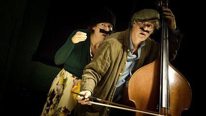 Silvia Pahl und Klaus Wilmanns in Daumesdick, Foto Armin Zarbock