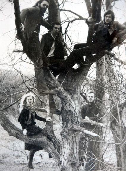 Die Mannheimer Band Zyma mit Geigerin und Sängerin Dorle Ferber.
