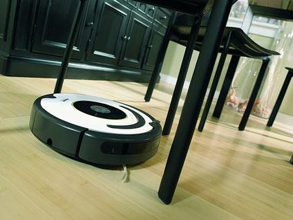 irobot Roomba 620 im Saugeinsatz