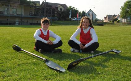 Tillmann und Johanna freuen sich schon auf die Ostdeutschen Meisterschaften.