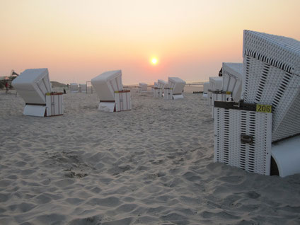 Erholung am Strand von Wangerooge