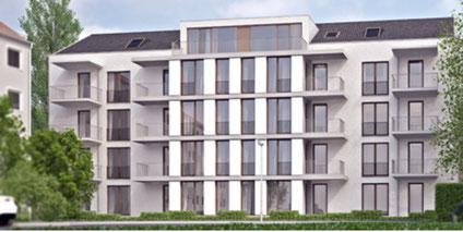 So soll der Passivhaus-Neubau aussehen (Quelle: Gewoba)