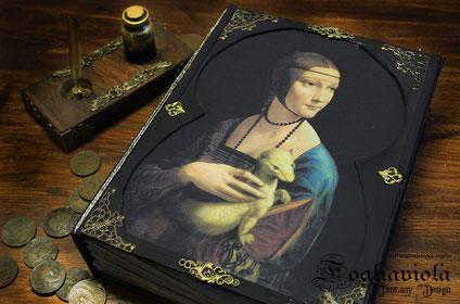 La Dama con L'Ermellino, Leonardo da Vinci diary