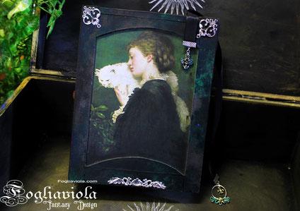Pre-Raphaelite Brotherhood enchanted book