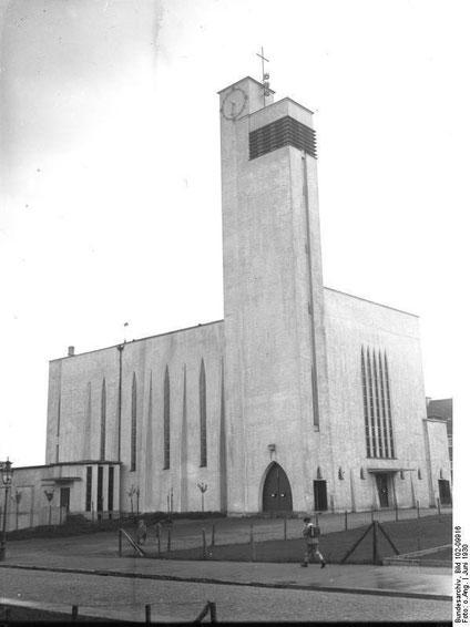 St. Dreikönigen im Jahr 1930, Foto (c) Bundesarchiv, Bild 102-009916 / CC-BY-SA 3.0