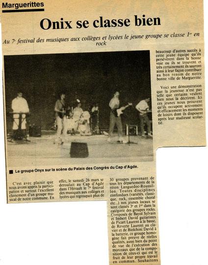 Laurent Reverte mars 1988