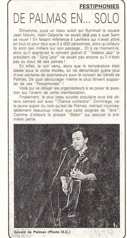 Laurent Reverte juillet 1995