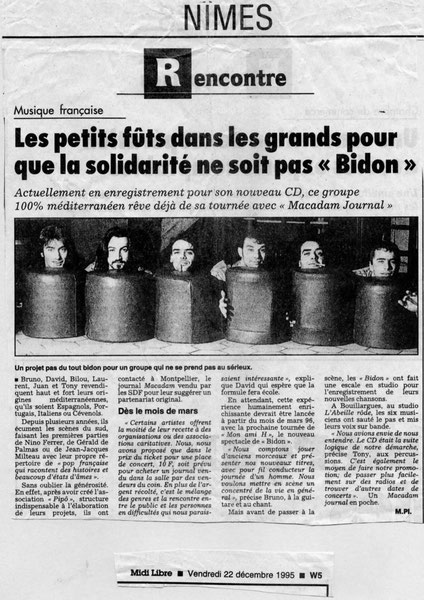 Laurent Reverte 1996 Bidon
