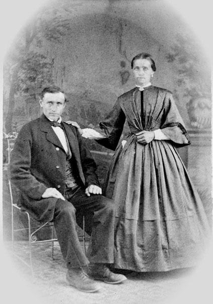 Die Geschwister Johannes und Elisabeth Bornemann, Stiefgeschwister von Joseph