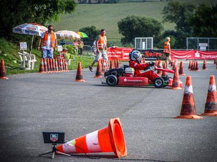 Sein 1. Meisterschaftsrennen überhaupt bestritt Erik Sommer am Saisonfinale in Pößneck. Verloren im Wirrwarr dieser Strecke war er dennoch nicht.
