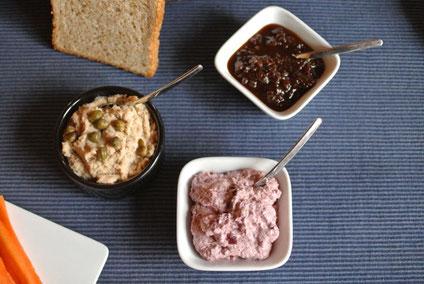 """Rezept aus meinem Kochbuch """"Lieblingsdips & Aufstriche - Kochen mit dem Thermomix"""""""