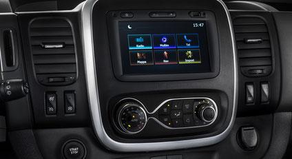 Auf dem neuesten Stand der Technik - das Onboard System beim Fiat Talento