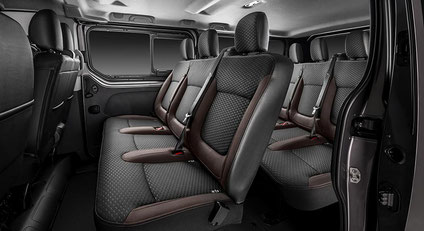 Komfortabel und ergonomisch - Der Innenraum beim Fiat Talento Transporter
