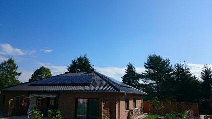Sunpower PV-Anlage Berlin inkl. Batteriespeicher und Solaredge