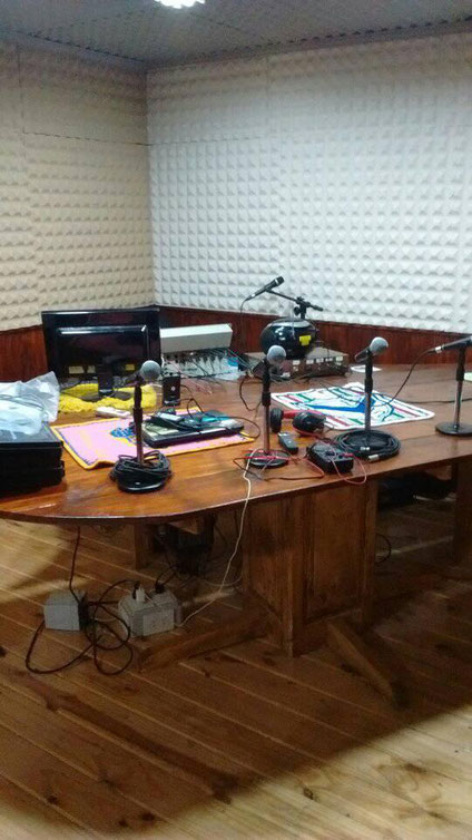 Studio of Monseñor Gottau radio