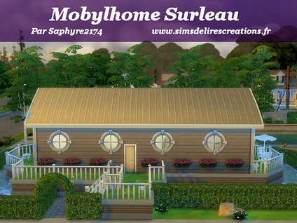 Simsdelirescreations Sims sims4 mobylhome Surleau creation saphyre2174