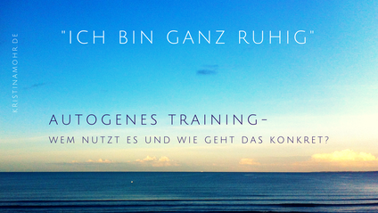 Autogenes Training Ruhebild