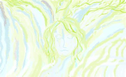 6a passeggiata - Meditazione disegno di Wilma Camatti