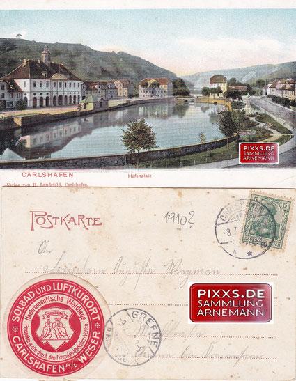 Ansichtskarten aus der Zeit vor 1913/14 Landefeld