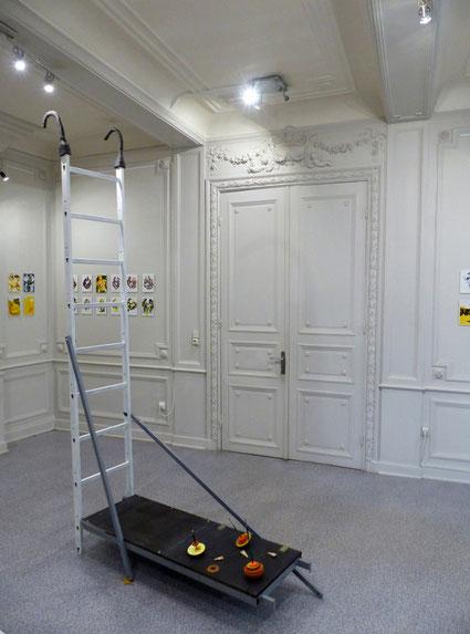JC FAREY Vue de l'exposition DUO ICI DOUAI au Ponton 2018