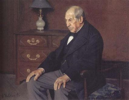 《ウルデンバッハ氏の肖像》1885年