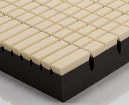 調整できるベッドマットレス キューブK / 西川リビング