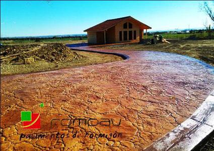 Hormig n impreso precio desde 12 m2 suelos de hormig n for Precio m2 suelo hormigon pulido