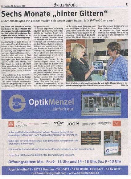 Unsere Besten - Weser Report