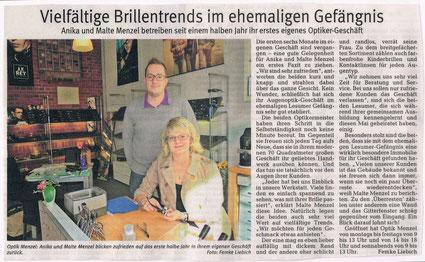 Norddeutsche Zeitung im September 2011