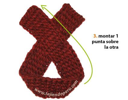Paso a paso: gorro tipo turbante tejido en ganchillo tunecino