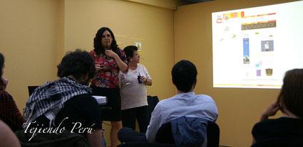 Tejiendo Perú en la conferencia Hastac 2014