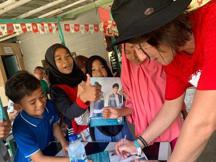 インドネシアでの子どもたちとの交流